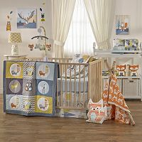 Lolli Living The Woods 4 pc Crib Bedding Set