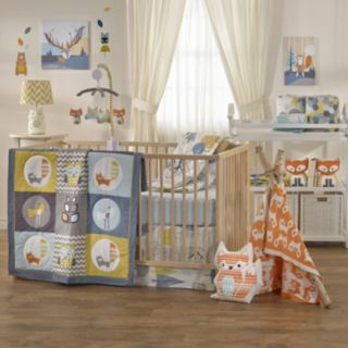 Lolli Living The Woods 4-pc. Crib Bedding Set