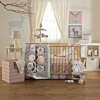 Lolli Living Sparrow 4 pc Crib Bedding Set