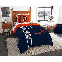 Detroit Tigers Soft & Cozy Twin Comforter Set by Northwest