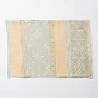 Food Network™ Aqua Block Woven Placemat
