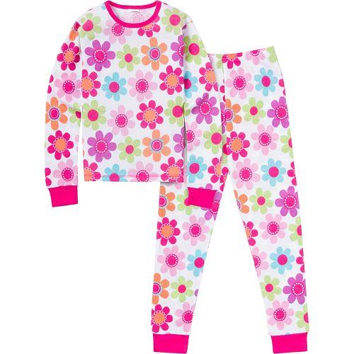 Girls 4-16 Jockey Thermal Pajama Set