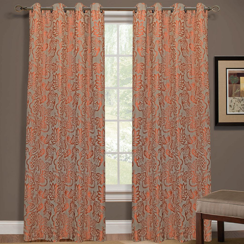 Yacon Floral Jacquard Curtain