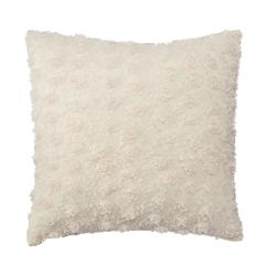 LC Lauren Conrad Rosette Chiffon Throw Pillow