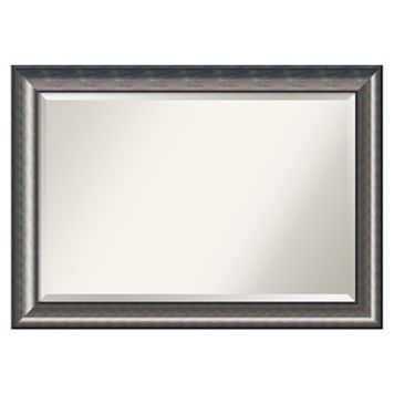 Quicksilver Beveled Wall Mirror