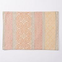 Food Network™ Coral Block Woven Placemat