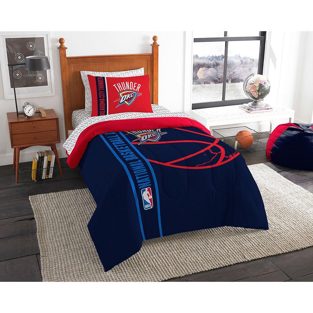 Oklahoma City Thunder Soft & Cozy Twin Comforter Set by Northwest
