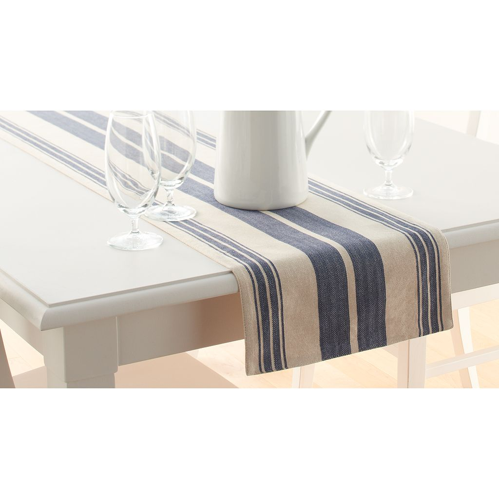 Food Network™ Blue Stripe Table Runner - 72
