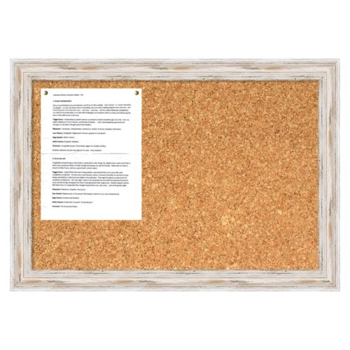 Alexandria Whitewash Cork Message Board