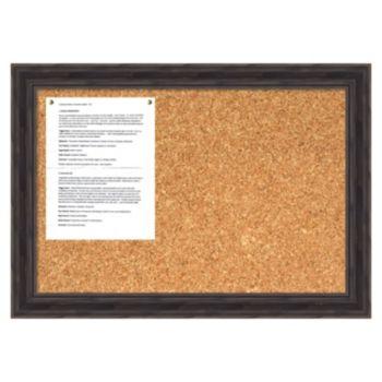 Antique Pine Cork Message Board