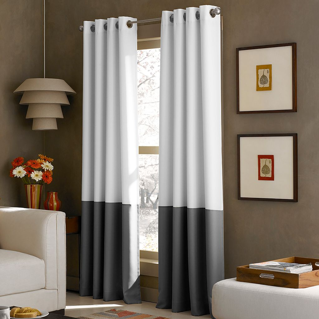 window kendall lined window curtain