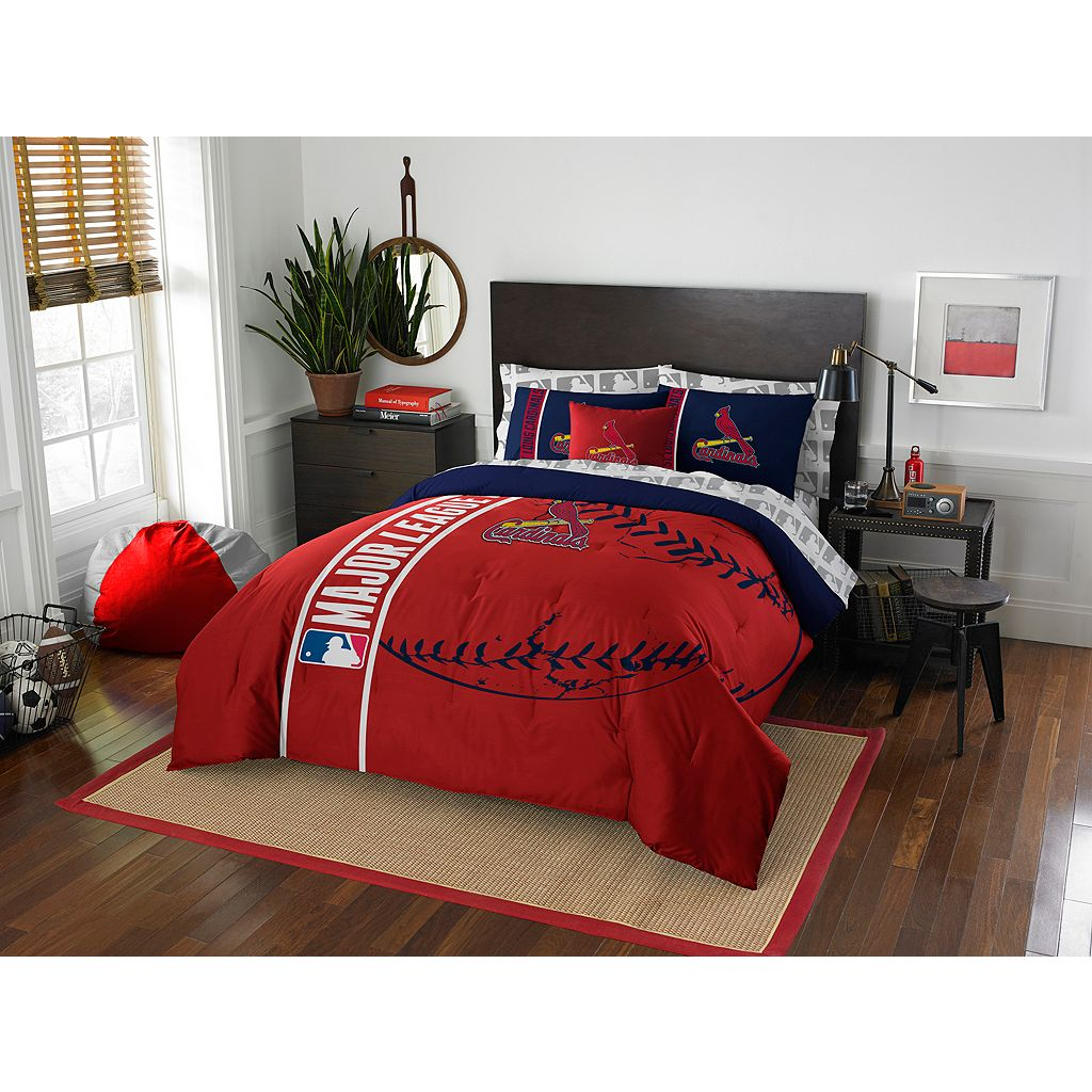 St. Louis Cardinals Soft & Cozy Full Comforter Set by Northwest