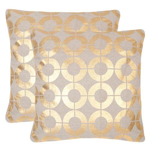 Safavieh Bailey 2-pc. Throw Pillow Set