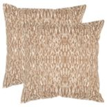 "Safavieh Techie 2-pc. 20"" x 20"" Throw Pillow Set"