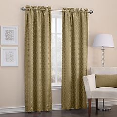 Sun Zero Denise Thermal Blackout Window Curtain