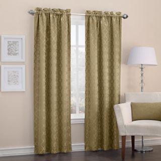 Sun Zero Blackout 1-Panel Denise Thermal Window Curtain