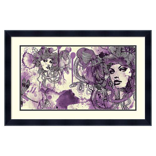 ''Viola'' Framed Wall Art