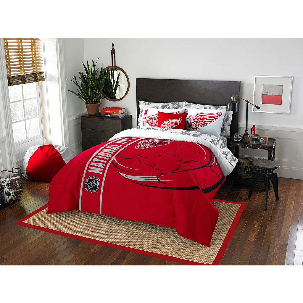Detroit Red Wings Soft & Cozy Full Comforter Set by Northwest