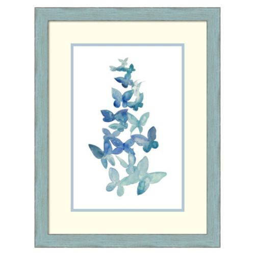 """""""Butterfly Falls I"""" Framed Wall Art"""