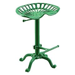 Carolina Forge Adjustable Tractor Seat Bar Stool