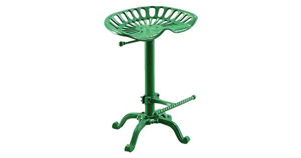 Tractor Seat Bar Stools Kohl S : Carolina forge adjustable tractor seat bar stool