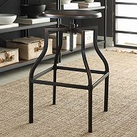 Carolina Forge Alston Metal Adjustable Stool