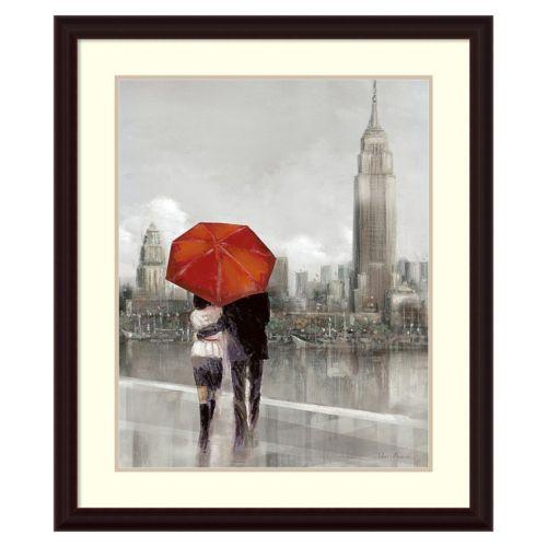 """Modern Couple in NY"" Framed Wall Art"