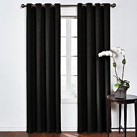 eclipse Round & Round Thermaweave Blackout Window Curtain