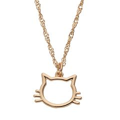 LC Lauren Conrad Cat Pendant Necklace