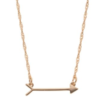 LC Lauren Conrad Arrow Necklace