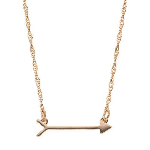 LC Lauren Conrad Arrow Necklace