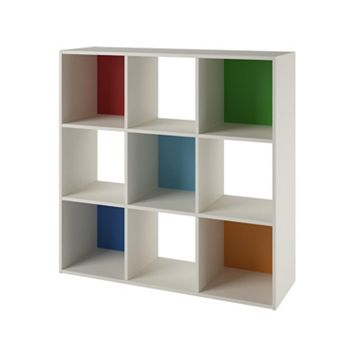 Ameriwood Wink 9-Cube Storage Bookcase