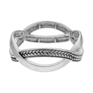 Dana Buchman Crisscross Stretch Bracelet