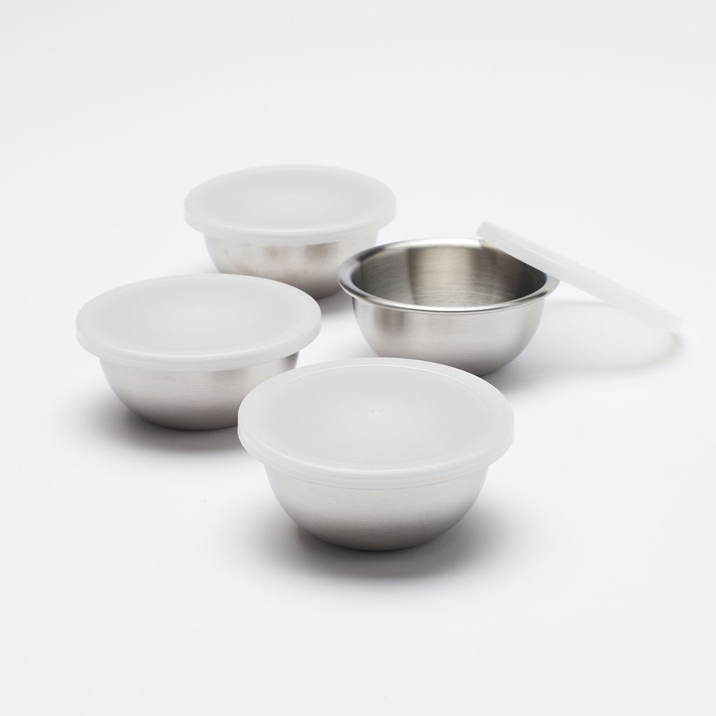 Food Network™ 4-pc. Stainless Steel Prep Bowl Set