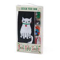 Women's Design Your Own Ugly Christmas Socks