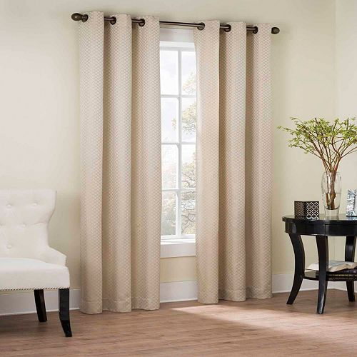 The Big One® Nobhill Jacquard 2-pk. Curtains