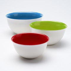 Food Network™ 3 pc Mixing Bowl Set