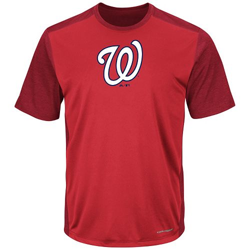 Majestic Washington Nationals It's Our Goal Tee - Men