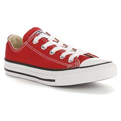 the sale of shoes many fashionable modern and elegant in fashion Red Converse | Kohl's