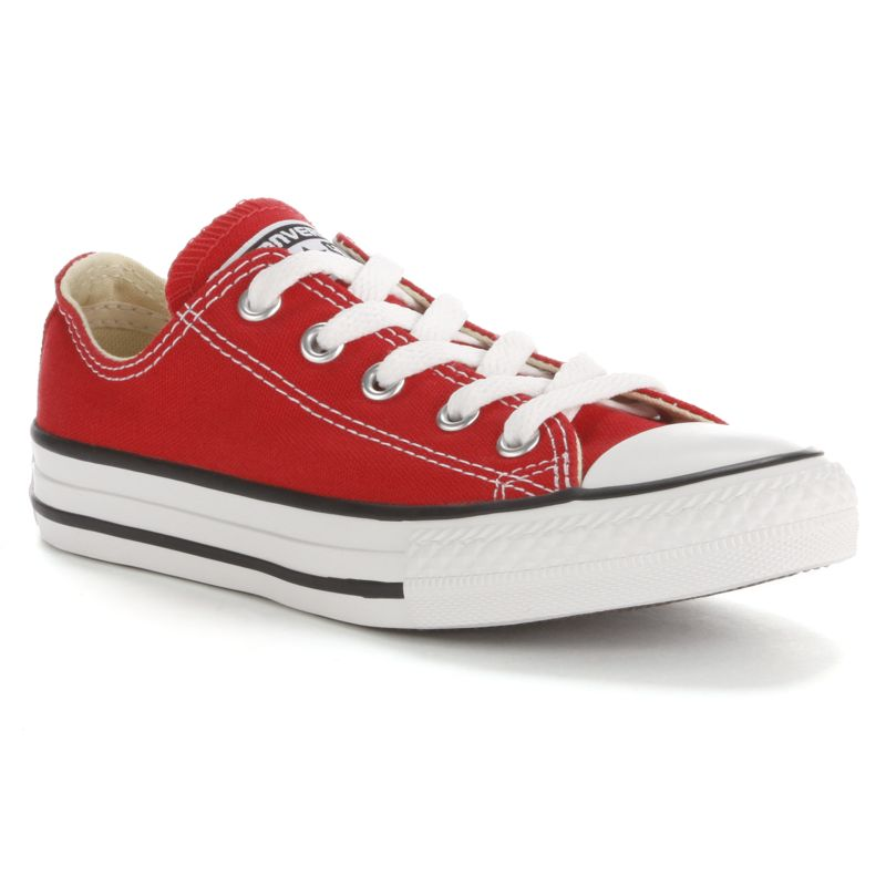 Kid's Converse Chuck Taylor All Star Sneakers, Kids Unisex, Size: 12, Red