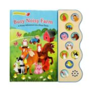 Busy Noisy Farm Early Bird Sound Book by Cottage Door Press