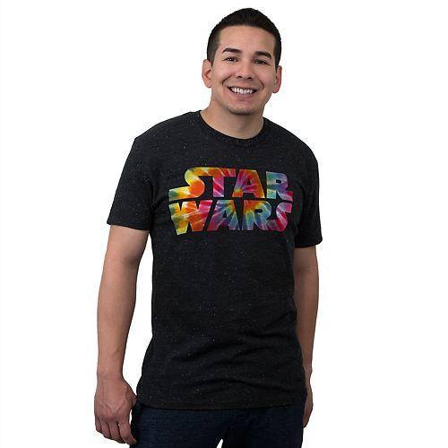 Men's Star Wars Tie-Dye Logo Tee