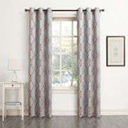 Sun Zero Newport Room Darkening Window Curtain