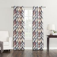 Sun Zero Chevron Thermal Curtain