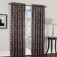 Sun Zero Galaxy Room Darkening Window Curtain