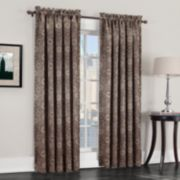 Sun Zero 1-Panel Galaxy Room Darkening Window Curtain