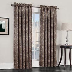 Sun Zero 1-Panel Galaxy Room Darkening Window Curtain