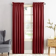 Sun Zero 1-Panel Gramercy Room Darkening Window Curtain