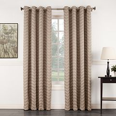Sun Zero 1-Panel Ramsey Room Darkening Window Curtain