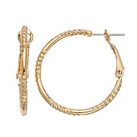 LC Lauren Conrad Hoop Earrings